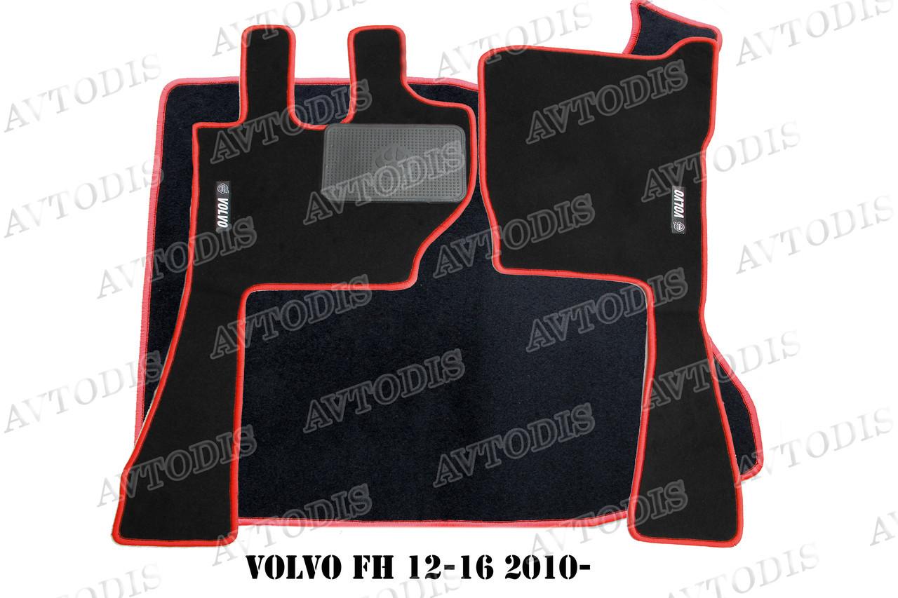 Ворсовые коврики Volvo FH 12-16 2010- VIP ЛЮКС