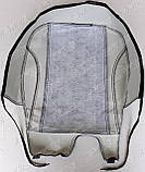 Авточехлы MAN TGM 1+1 2005- (тёмно-серые) VIP ЛЮКС Nika, фото 8