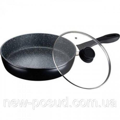Сковорода Peterhof с крышкой 24 см PH25324-24