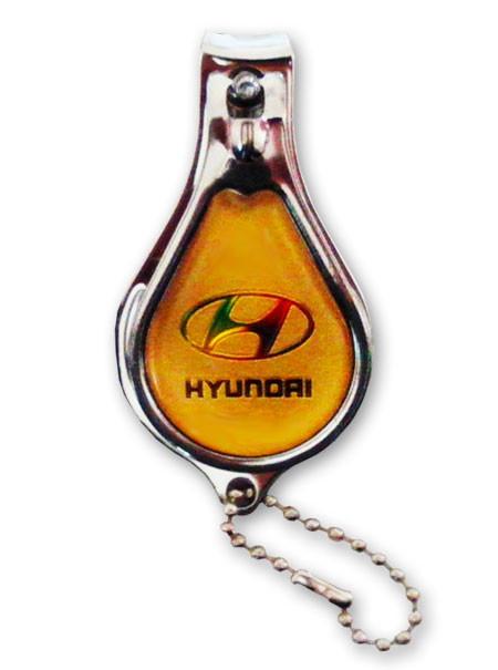 Книпсер-брелок для ключей с разными эмблемами автомобилей, кусачки маникюрные для ногтей
