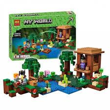 """Конструктор Minecraft Bela 10622 """"Хижина ведьмы"""" (аналог Lego Майнкрафт, Minecraft 21133), 508 дет"""