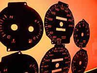 Шкалы приборов Daewoo Lanos, Sens с тахометром и без, фото 1