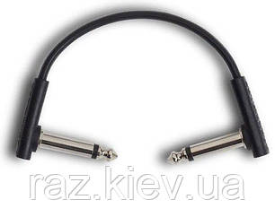 ROCKBOARD RBOCABPC F10 BLK FLAT PATCH CABLE Інструментальний патч-кабель для гітарних педалей, фото 2