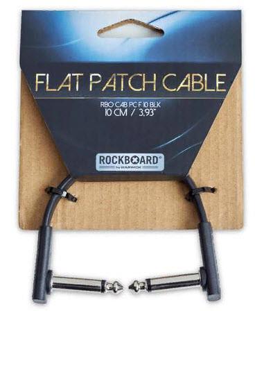 ROCKBOARD RBOCABPC F10 BLK FLAT PATCH CABLE Інструментальний патч-кабель для гітарних педалей