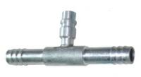Фитинг шланга №6 (8мм) сервисный прямой 0°