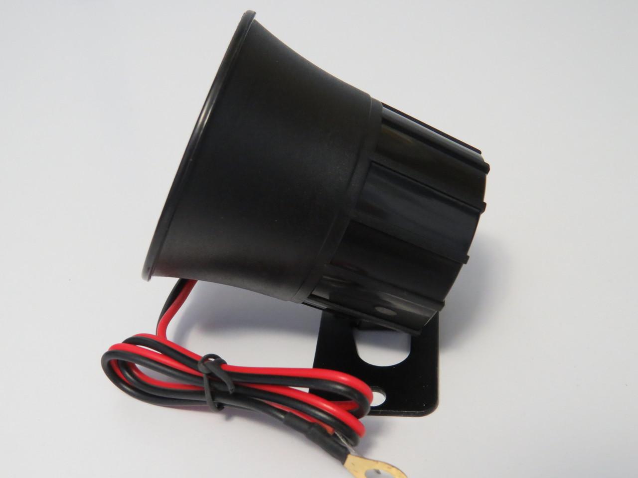 Колокол для автомобильной сигнализации 1 тон 12В 20Вт
