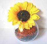 Ваза-шар Flora 124х103 мм арт.43417, фото 3