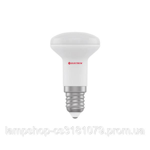 Лампа светодиодная рефлекторная R39 LR-5 4W E14 3000K алюмопл. корп. A-LR-0272