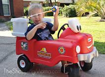 Машинка каталка самоходная Пожарная Little Tikes 616129, фото 2