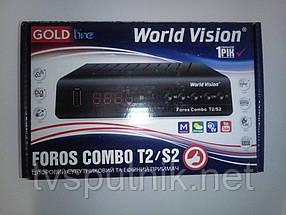 Комбинированный тюнер World Vision Foros Combo T2/S2/C