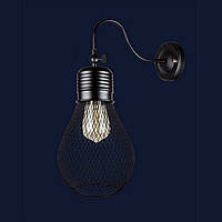 Светильники бра в стиле лофт Levistella 907W007F3-1 BK