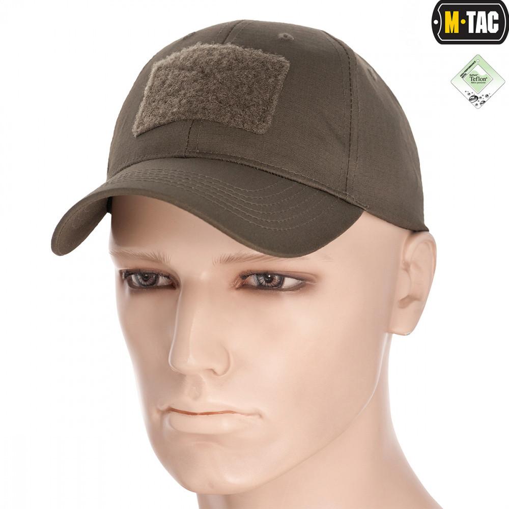 Бейсболка тактична M-Tac Flex Ріп-стоп Dark Olive Size L/XL