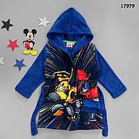 Махровый халат Transformers для мальчика. 94, 104, 116 см