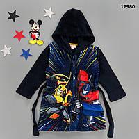Махровый халат Transformers для мальчика. 94, 104, 128  см