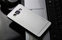 Чехол для Samsung Galaxy A3 motomo металлический, фото 1