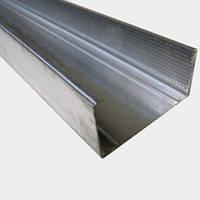 CW-100/40 Профиль для гипсокартона стоечный перегородочный, 3 м (0,45 мм) ГОСТ