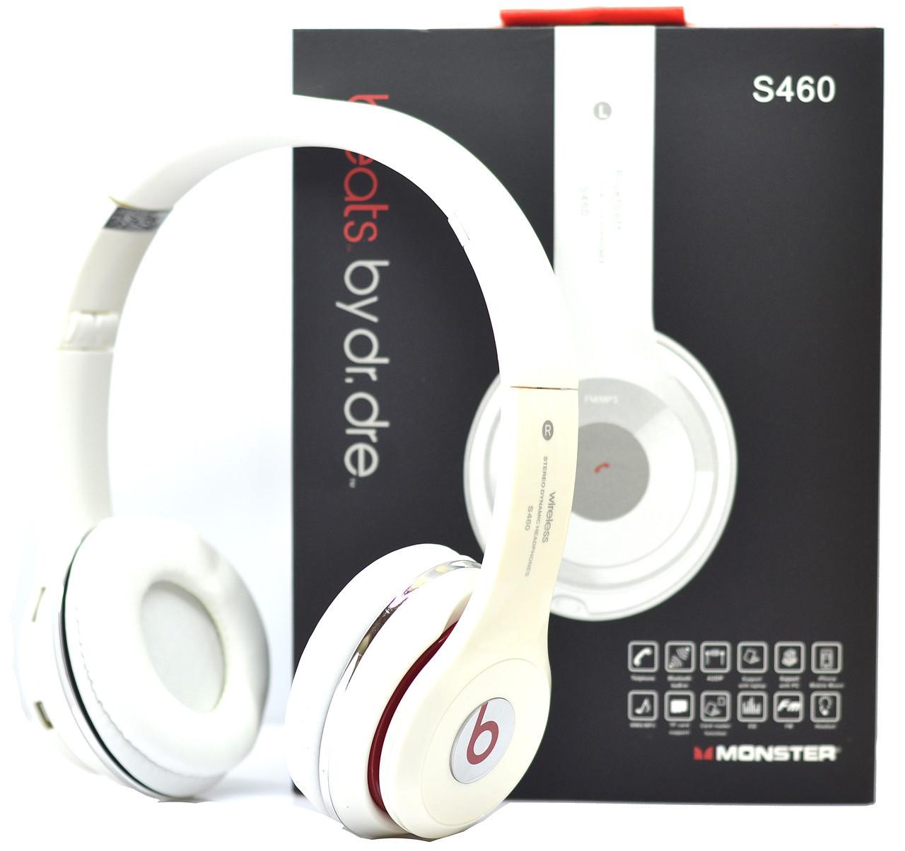 Беспроводные наушники Monster Beats Solo 2 by Dr.Dre белые 460
