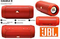 Портативная колонка JBL Charge 2 Красная Bluetooth,AUX,MicroSD, фото 1