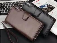 Мужской кошелёк портмоне клатч гаманець Baellerry Business, фото 1
