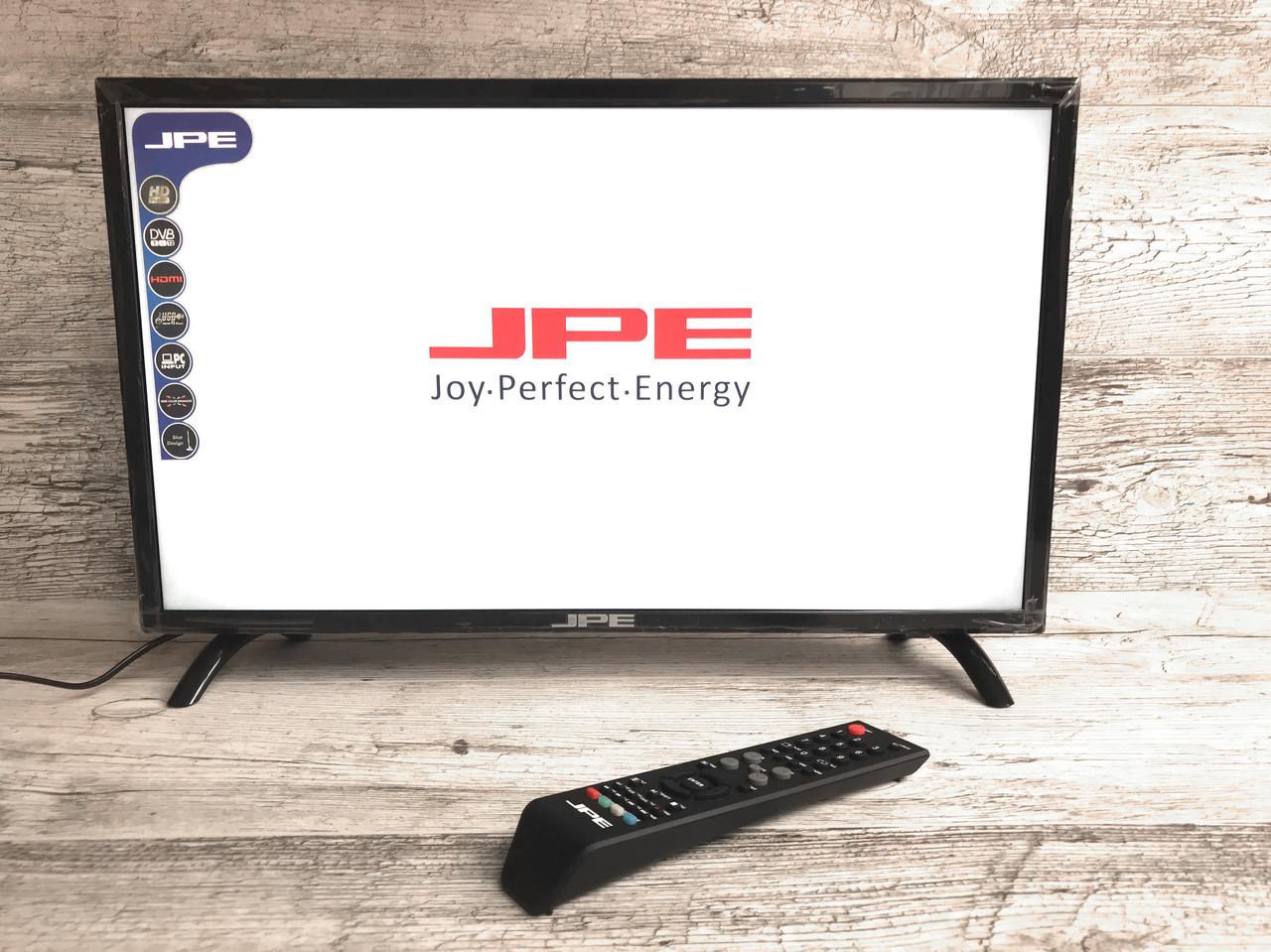 """Led Телевизор JPE 22"""" + Т2 тюнер,HD Ready,dvb-t2"""