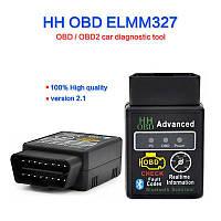 Автомобильный сканер Elm 327 v2.1 OBD2 Bluetooth Автосканер, фото 1