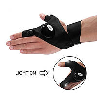 Перчатки с подсветкой hand-free light, фото 1