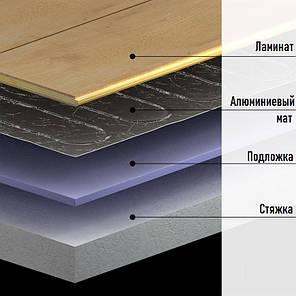 Алюминиевый нагревательный мат под ламинат IN-THERM AFMAT 1,0 м2 / 150 Вт (Корея), фото 2