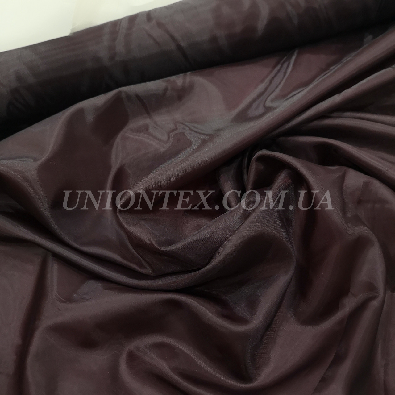 Подкладочная ткань нейлон 170Т темно-бордовый
