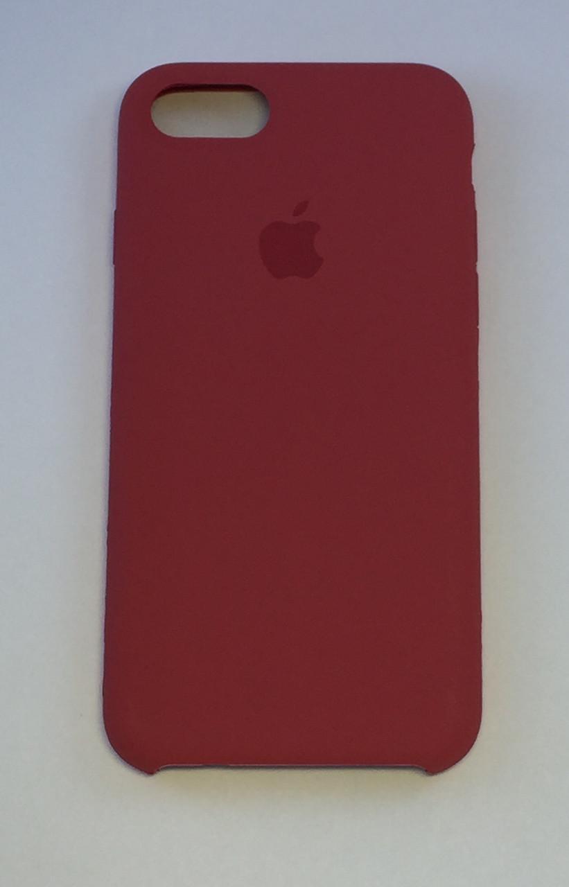 "Чехол - Silicon Case для iPhone ""Спелая малина - №25"" - copy orig."
