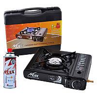 Газовая портативная плита для туризма MS-2500LPG в кейсе