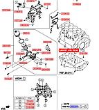 Фильтр масляный Спортейдж 2 2.0d, KIA Sportage 2004-07 KM, H02-HD017, 2632027001, фото 4