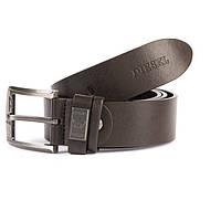 Ремень мужской кожаный длиной 110-115 см.