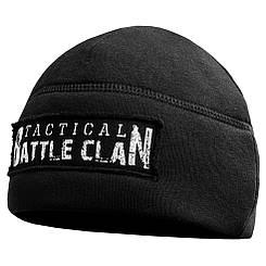 Шапка трикотажная с начёсом (BATTLE CLAN) BLACK