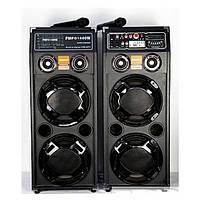 Колонки 2.0+радио микрофон, Активная акустическая система DP-2329