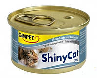 Консервы Gimpet Shiny Cat Filet, c тунцом и тыквой, 70г