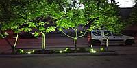 Хит продаж - зеленый прожектор для подсветки газонов, деревьев, кустарников.