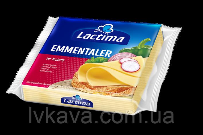 Сыр плавленный нарезанный Lactima Эмменталь , 130 гр, фото 2