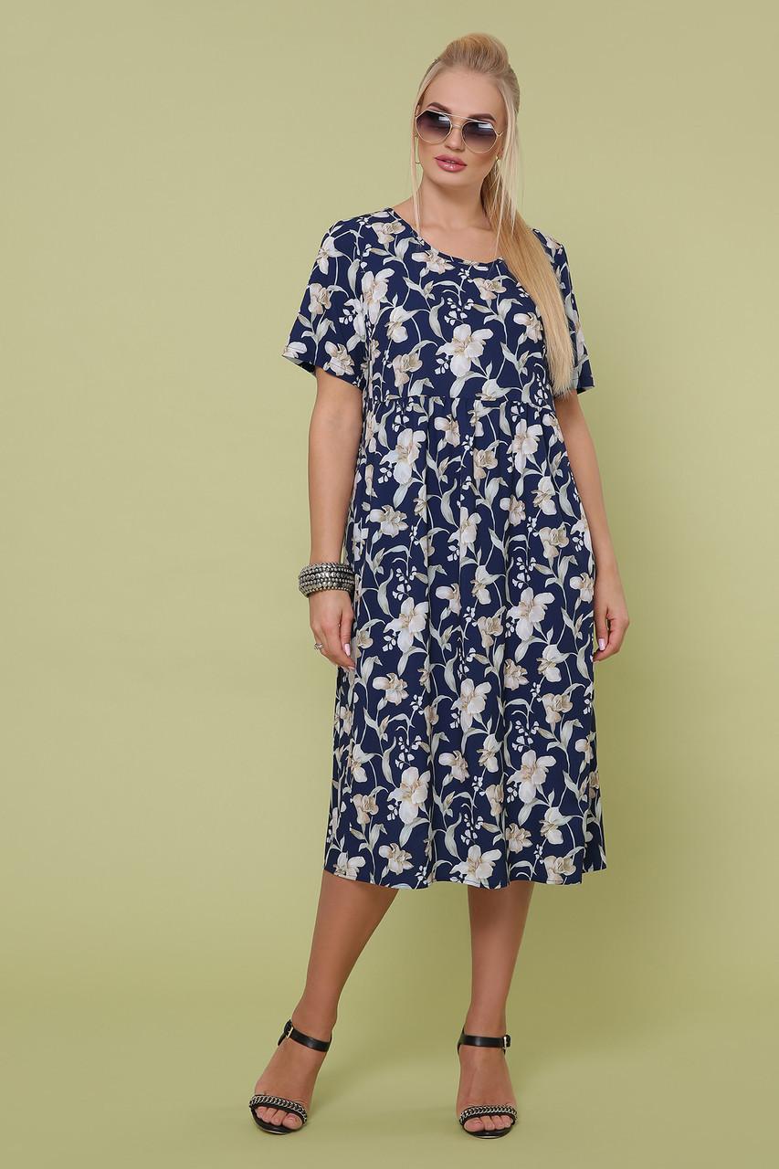 Летнее платье с 50 по 54 размер