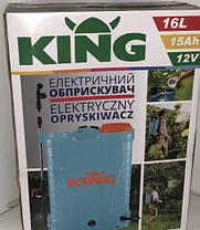 ✔️ Опрыскиватель аккумуляторный KING  PROFI 16.0L / 15 Ач, фото 2