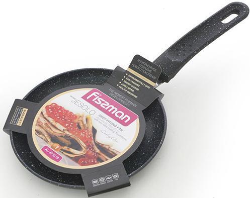 Сковорода блинная Fissman Jesolo Black Ø18см