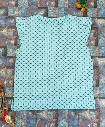 Блузка Ярослава  128-152 мята, фото 2