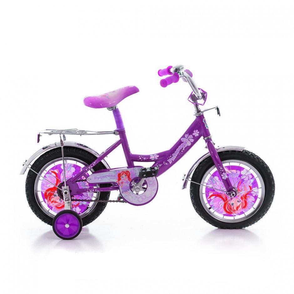 """Детский велосипед Mustang """"Принцесса"""" 14"""""""