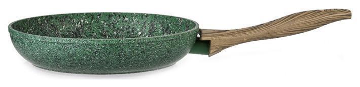 Сковорода Fissman Malachite Ø24см с антипригарным покрытием EcoStone