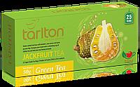 Чай зеленый пакетированный Тарлтон Jackfruit Green Tea со вкусом тропического фрукта Джекфрут 25 пак х 2 г