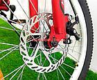Детский велосипед Azimut Blackmount GD 20 дюймов оранжевый, фото 3
