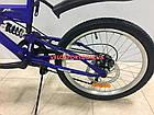 Детский велосипед Azimut Blackmount GD 20 дюймов оранжевый, фото 4