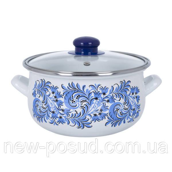 Кастрюля Infinity Blue flowers 4.8 л (6415020)