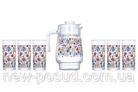 Набор для напитков Luminarc Amsterdam Spring Fiesta 7 предметов P4818