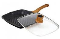 Сковорода-гриль с крышкой Vissner 26 x 26 см VS 7740-26