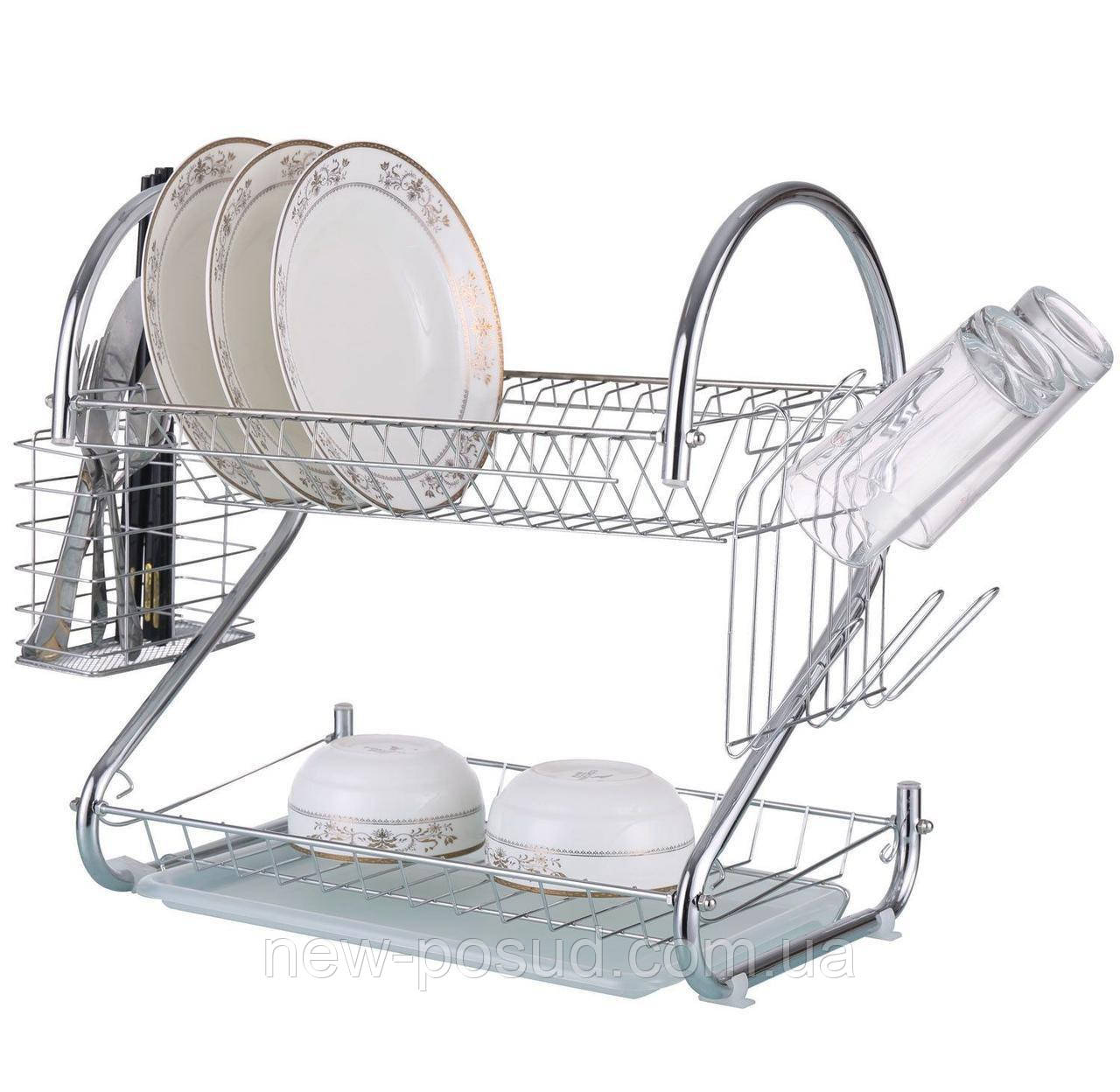 Хромированная сушка для посуды Bohmann BH 7325